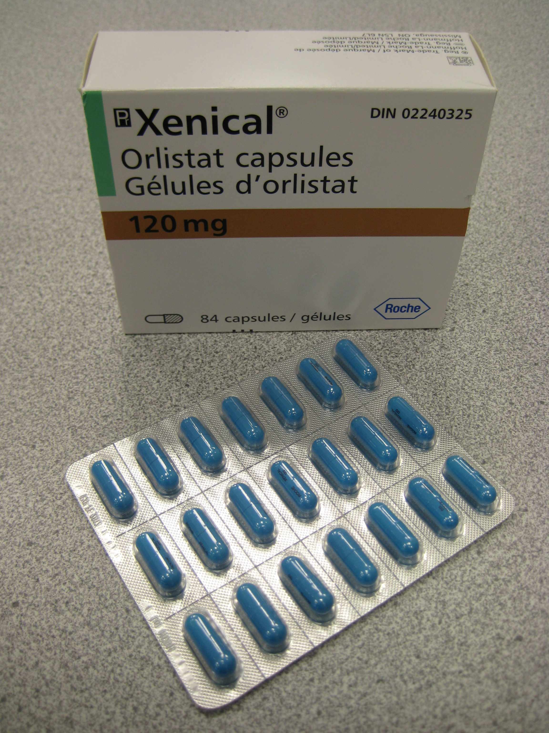 Read about orlistat (Xenical, alli) the weight loss drug. Alli is  120 mg (Xenical).<br /> STORAGE: Capsules should be stored at room temperature, 15-30 C (59-86 F).