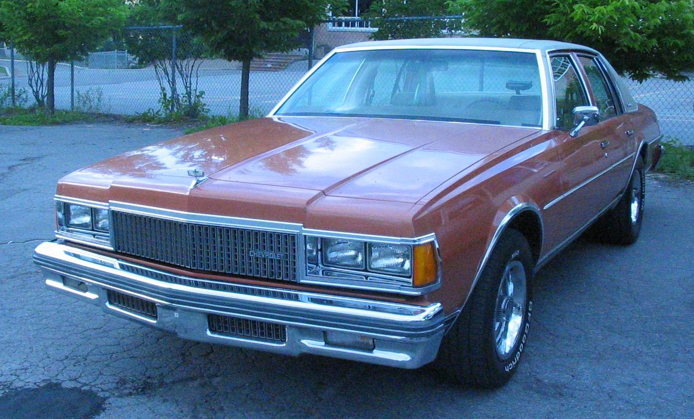 Chevrolet Caprice Wikipedia 1968 2 Door Una Berlina Del 1977
