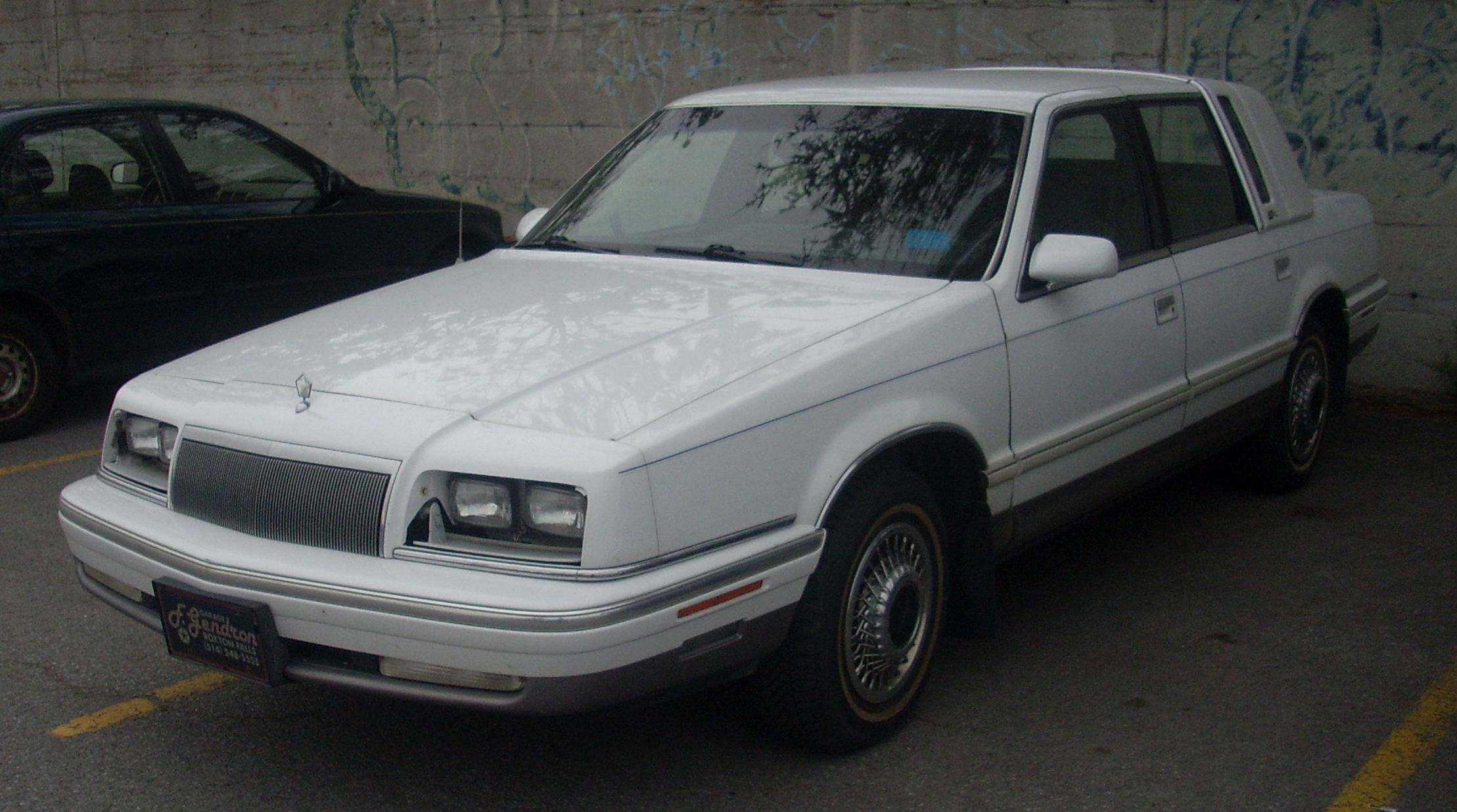 Service manual how to replace 1992 chrysler fifth ave for 93 chrysler new yorker salon