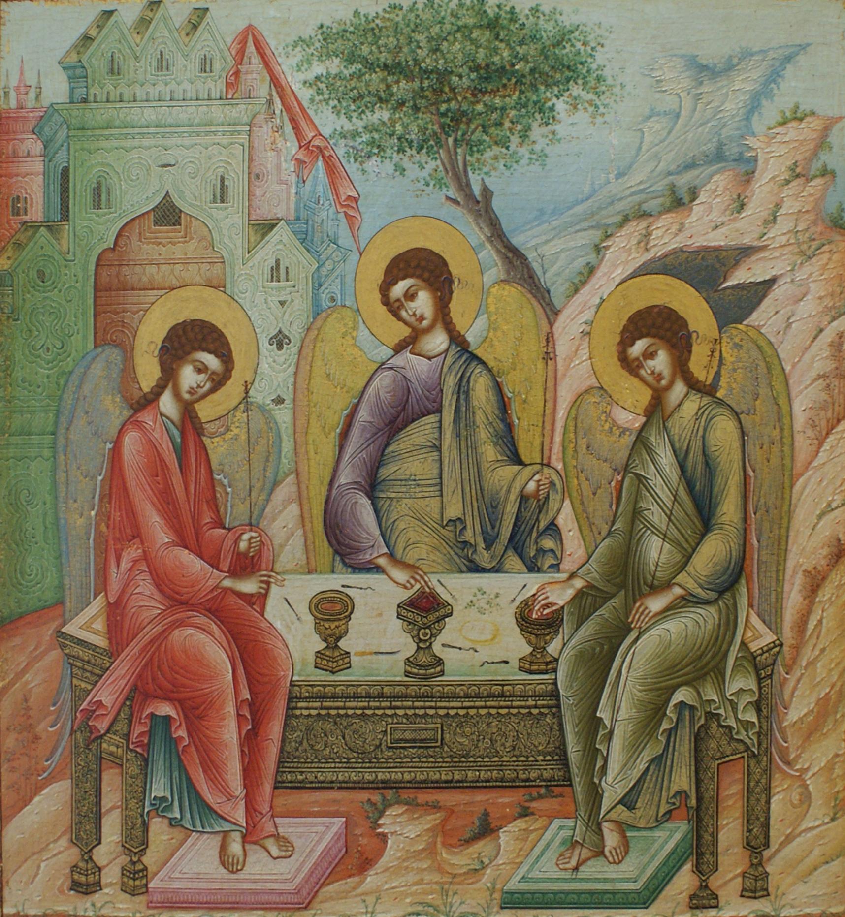 Поздравления с троицей мужчине