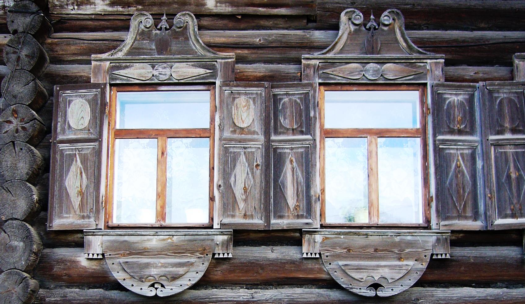 Два окна на главную улицу. Дом Алешиной. Петрозаводск, Шуйская улица, 14..JPG