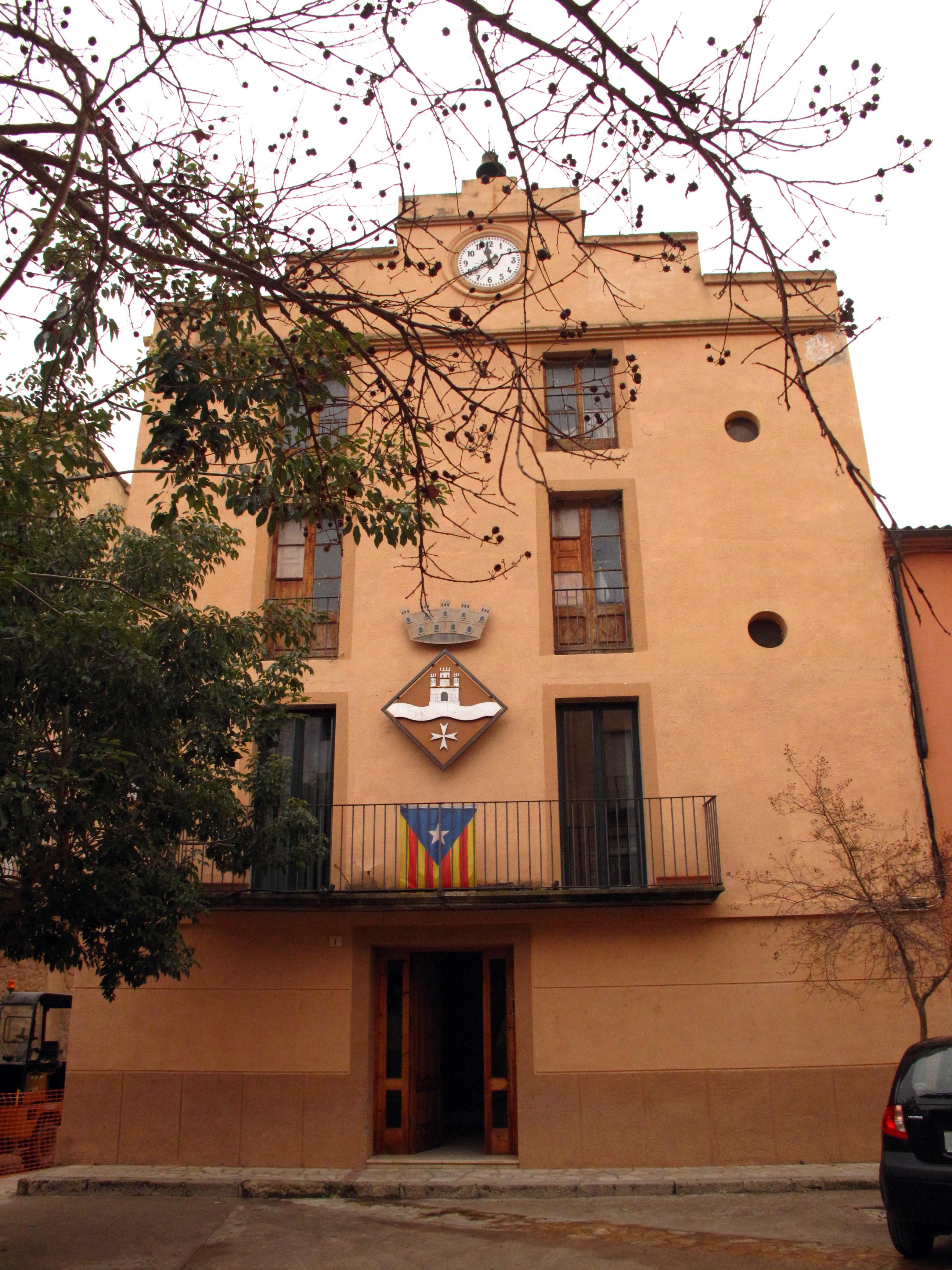 Miravet town hall