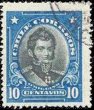 Postage Stamps And Postal History Of Chile