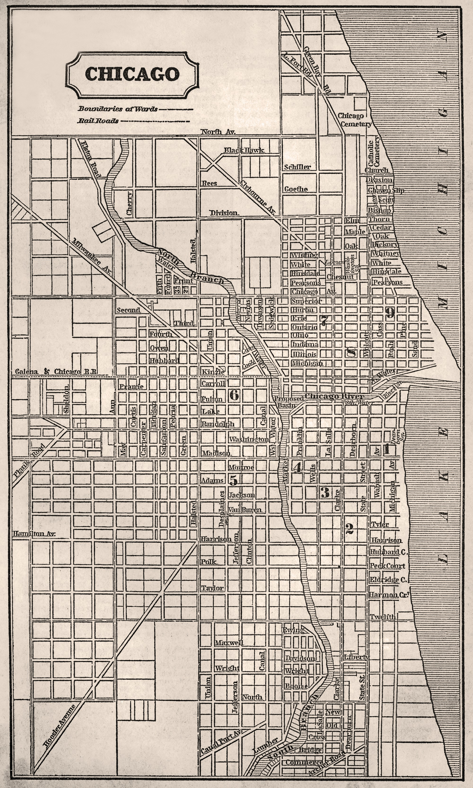 File Chicago Mapjpg Wikimedia Commons - Chicago map artwork