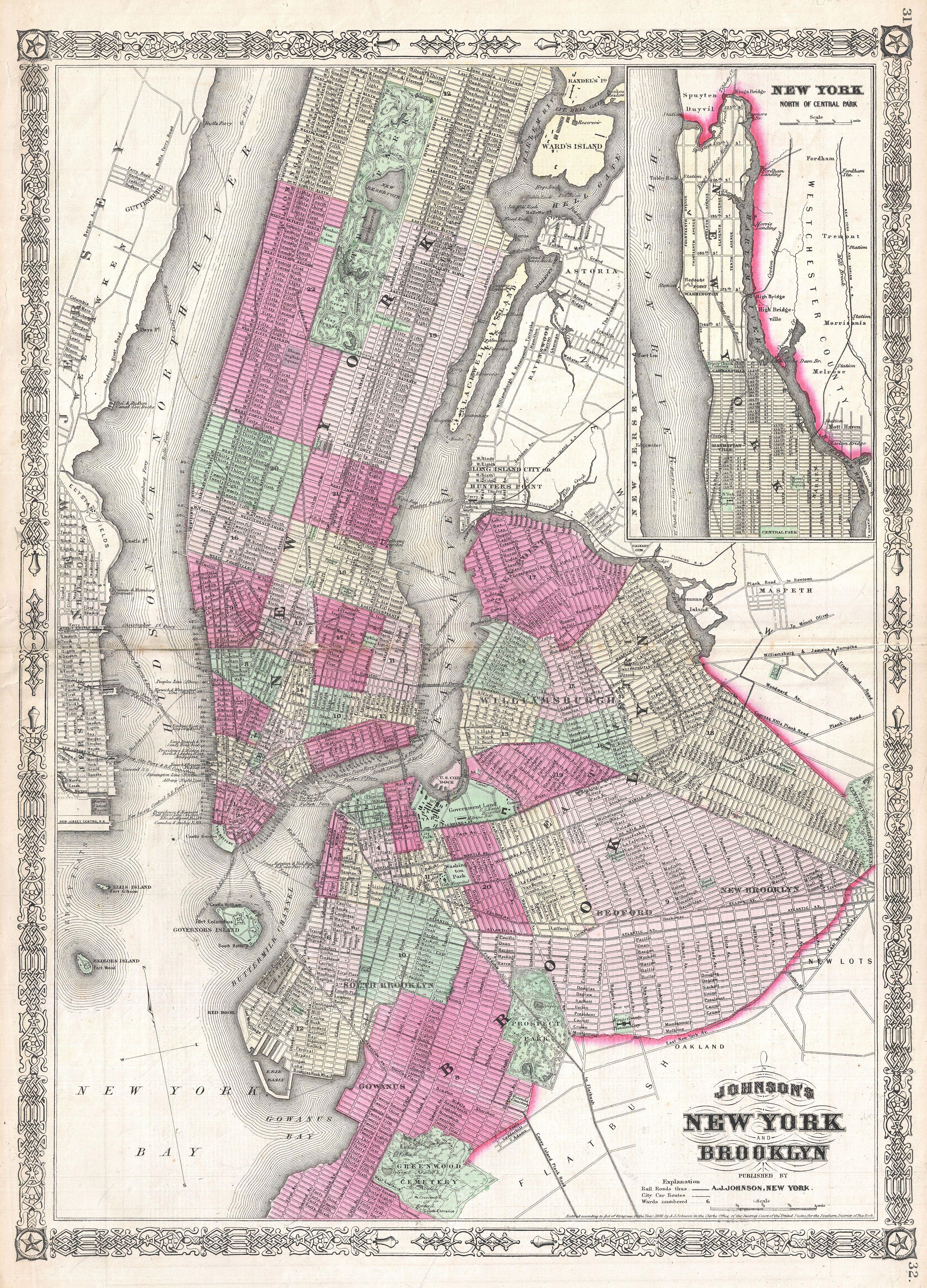 New York In Maps SkyscraperCity - New york city map 1950