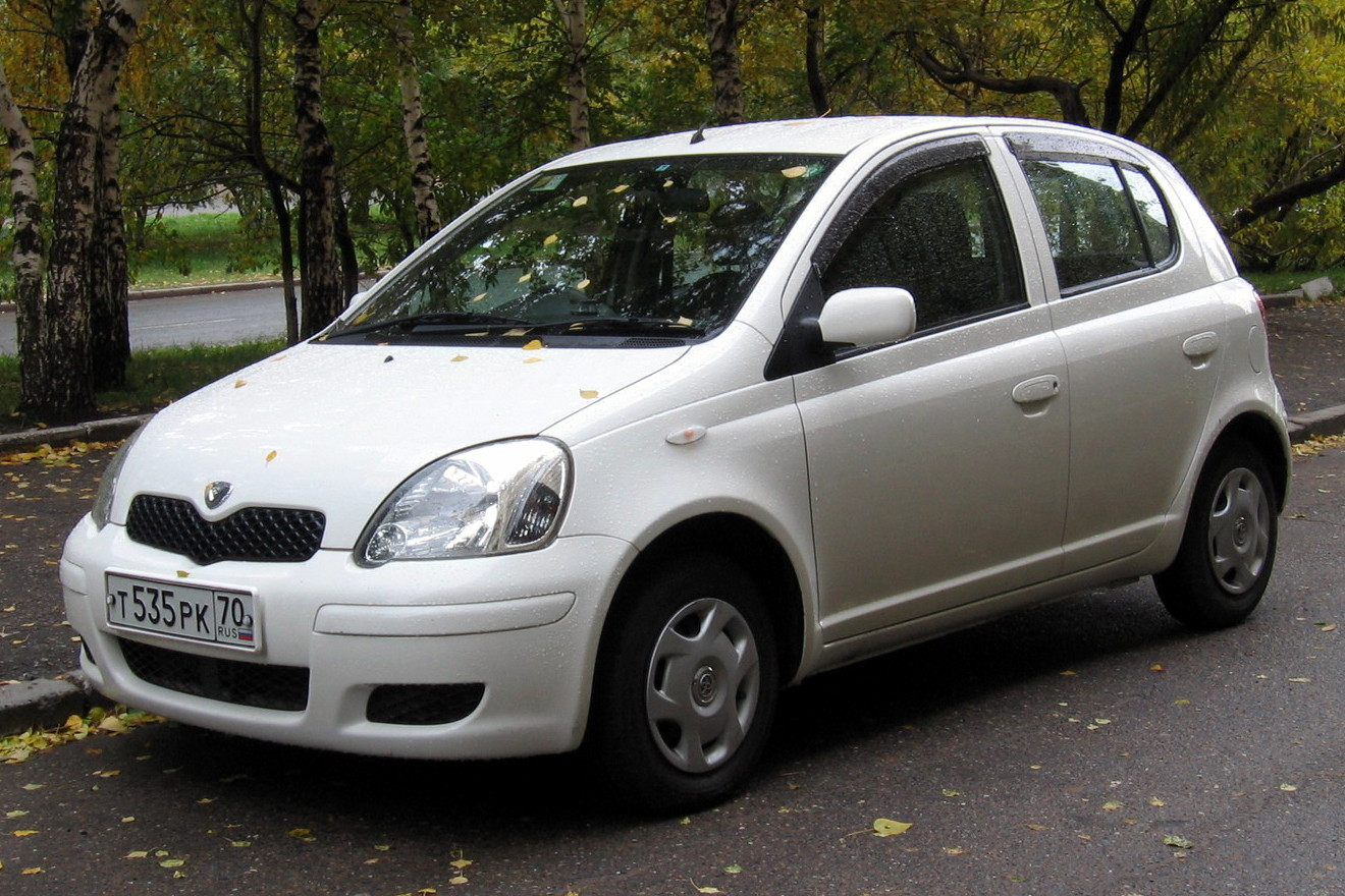 File:2002 Toyota Vitz 01 jpg - Wikimedia Commons