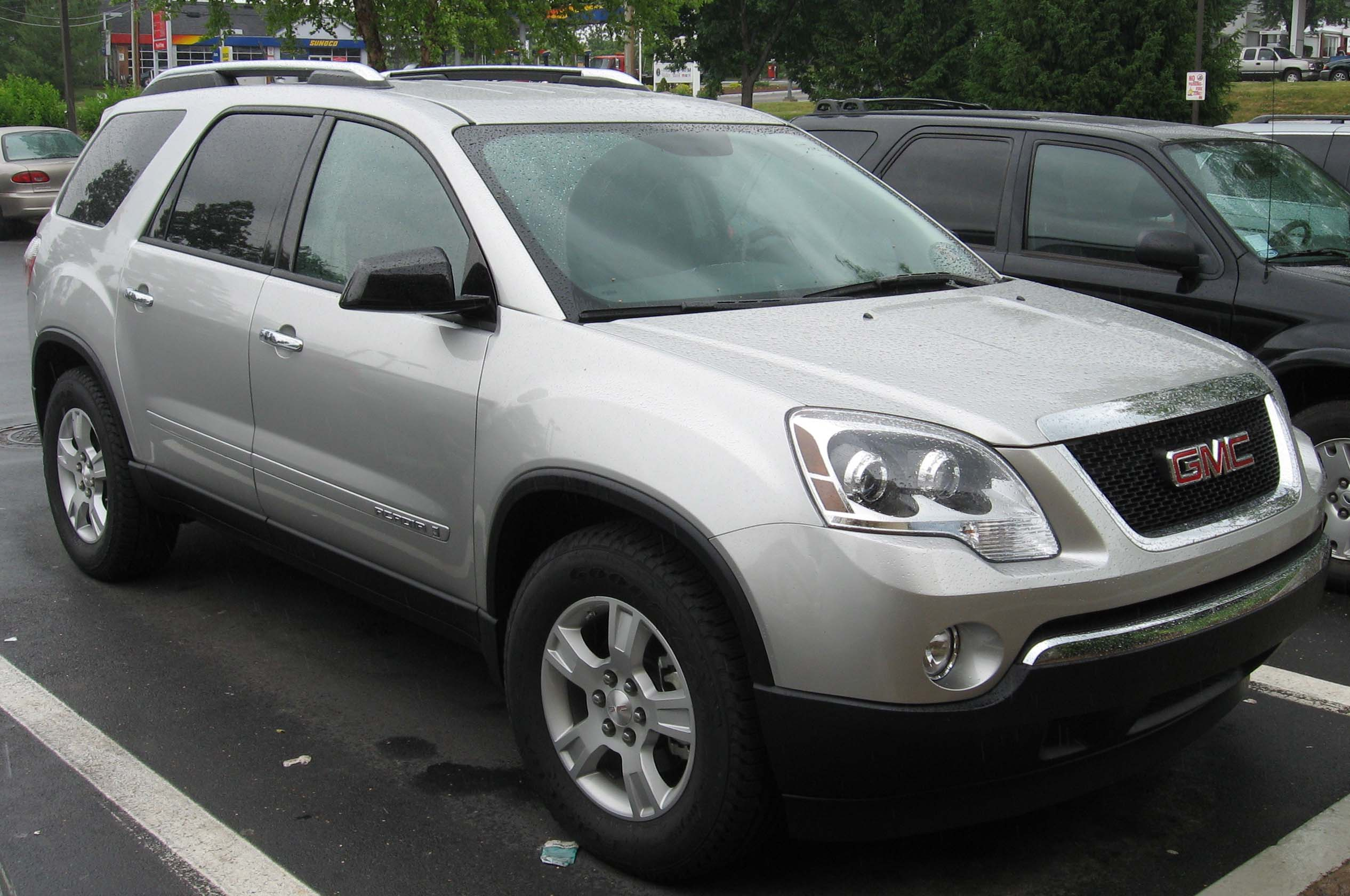 File 2007 GMC Acadia on 2007 gmc acadia silver