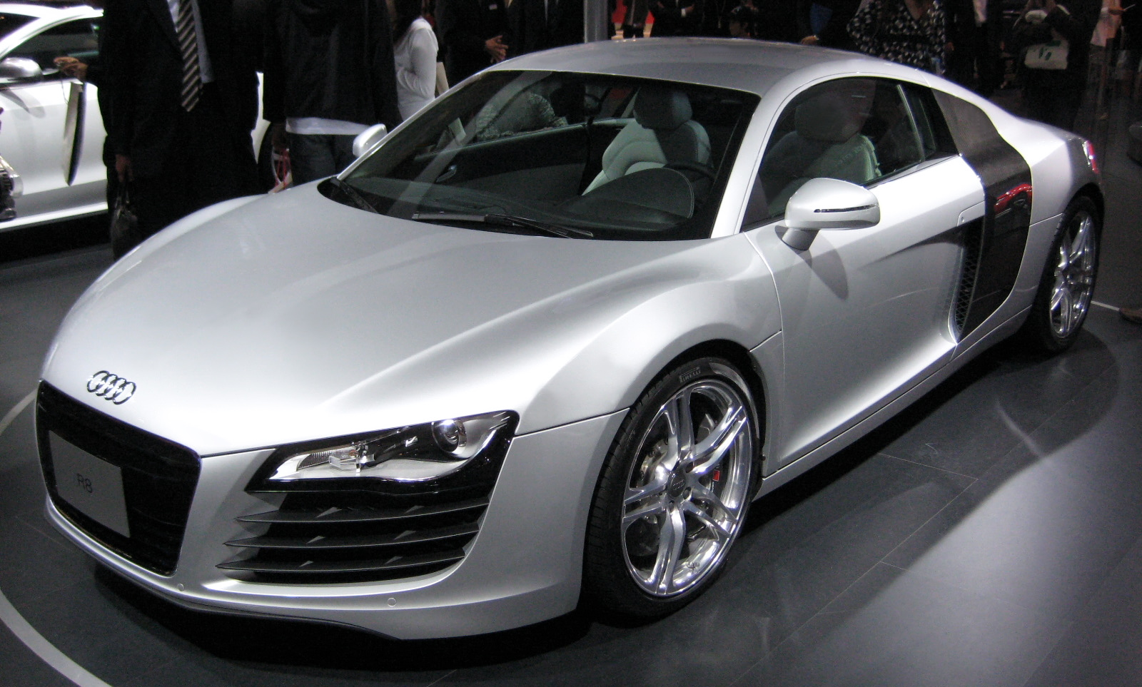 File2007 Audi R8jpg  Wikimedia Commons