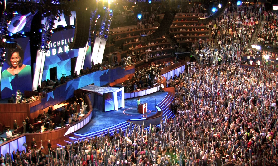 2008 democratic convention pictures
