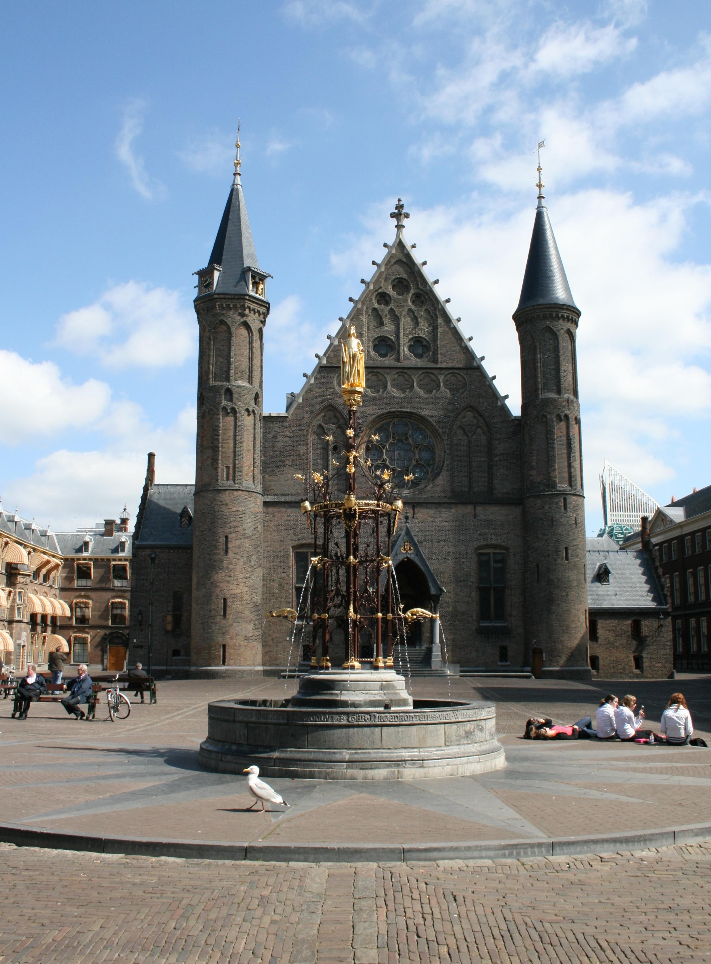 Binnenhof (met afbeeldingen) Holland, Den haag, Nederland