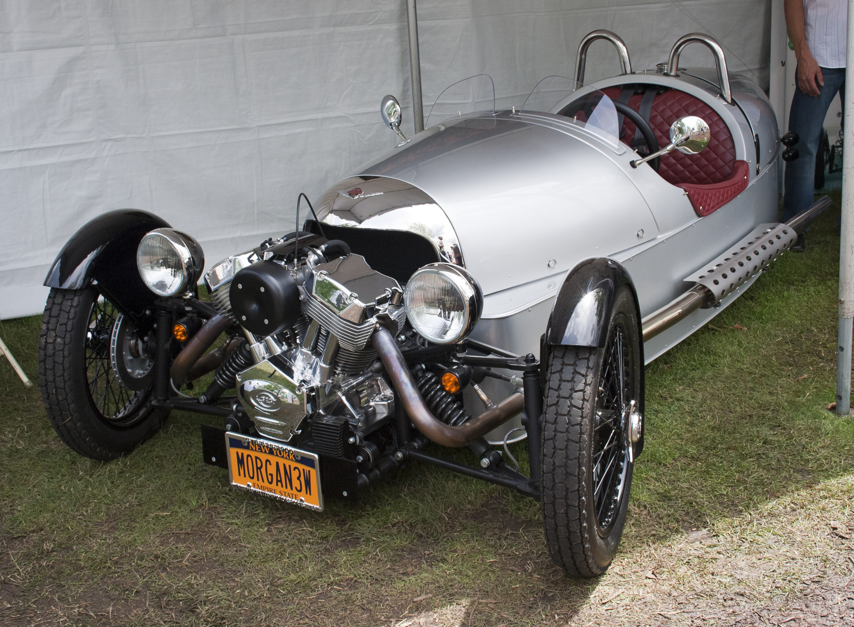 Description 2012 US-spec Morgan 3-wheeler.jpg