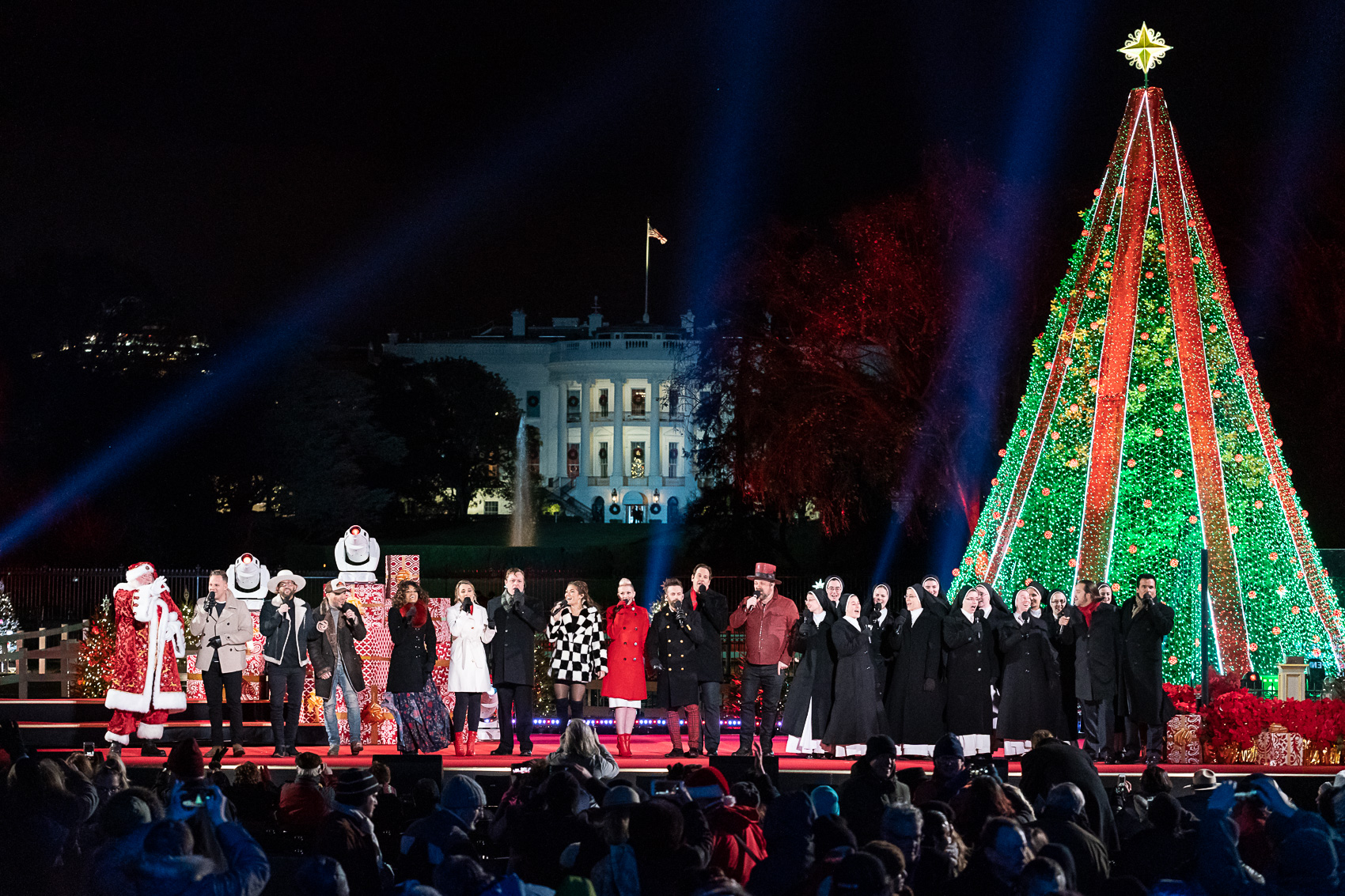 National Christmas Tree Lighting.File 2018 National Christmas Tree Lighting Jpg Wikimedia