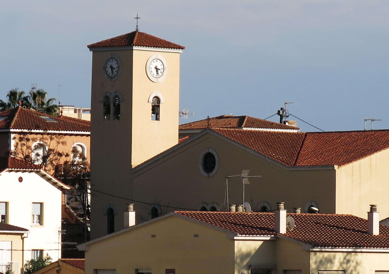 File:205 Església de la Mare de Déu del Pilar (el Masnou), des d ...