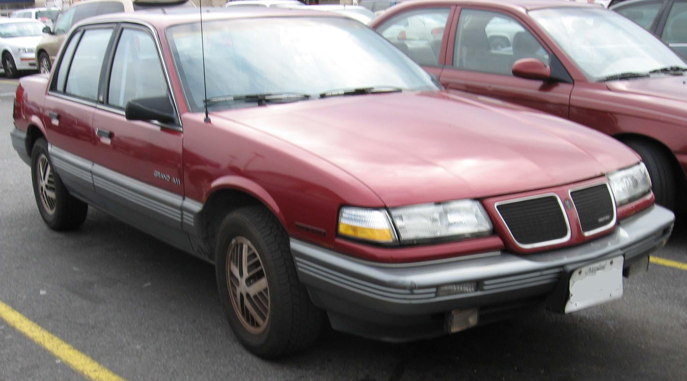 File 3rd Pontiac Grand Am Sedan Jpg Wikimedia Commons