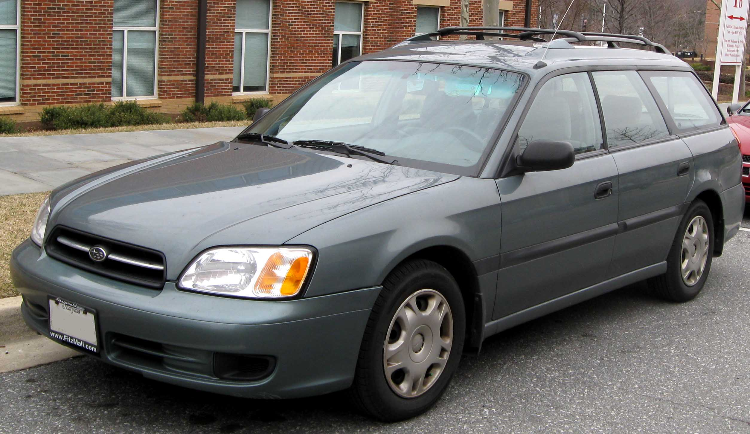 File 3rd Subaru Legacy L Wagon Front Jpg Wikimedia Commons