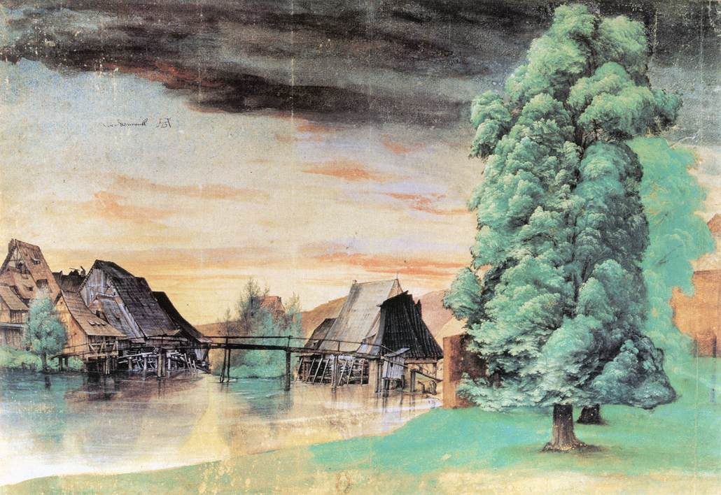 Some landscapes willow mill for Albrecht hesse