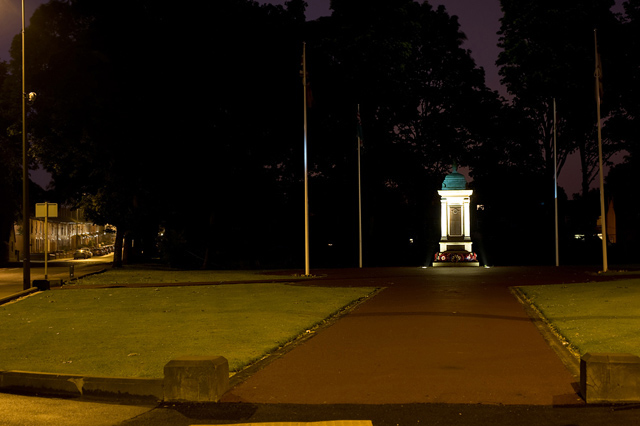File:Atherton Cenotaph - by night - geograph.org.uk - 925203.jpg