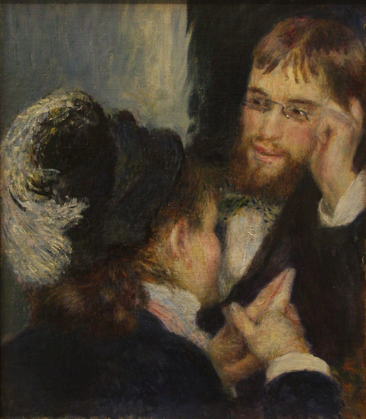 Auguste Renoir, Conversation, 1878, National Museum, Stockholm, Sweden, Photographer Bjoertvedt, Source: Wikimedia Commons (CC BY-SA 3.0)