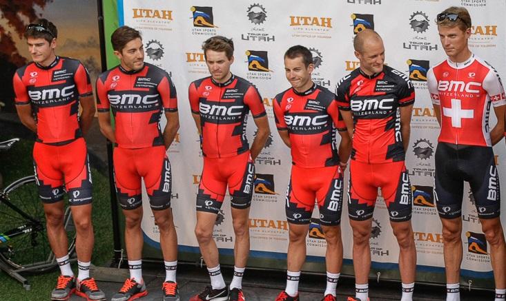 Depiction of BMC Racing Team