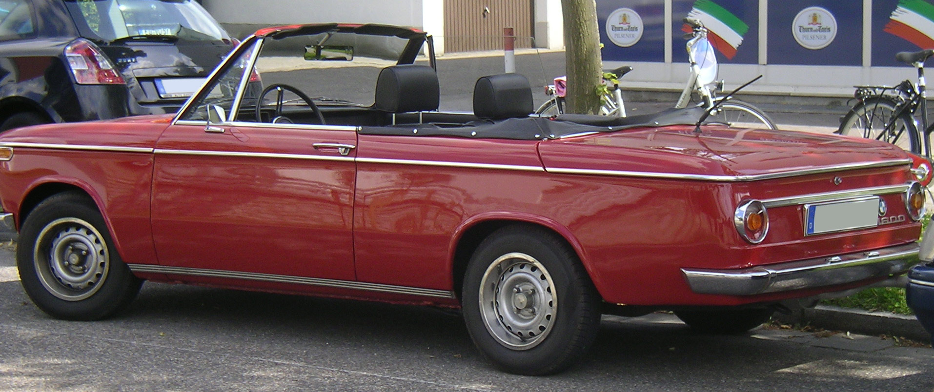 File bmw 1600 cabrio heck jpg wikimedia commons