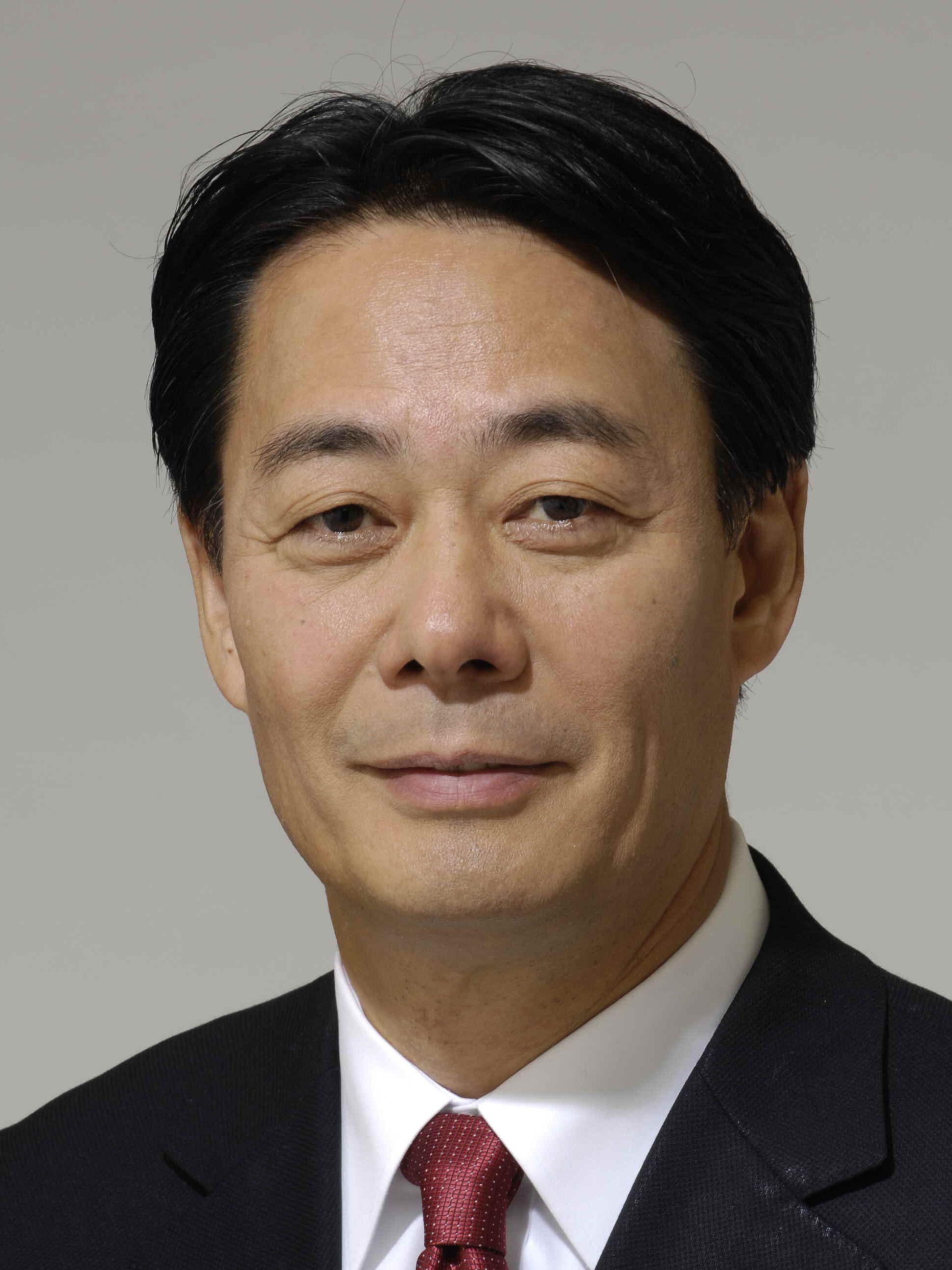 Banri Kaieda Japanese Minister