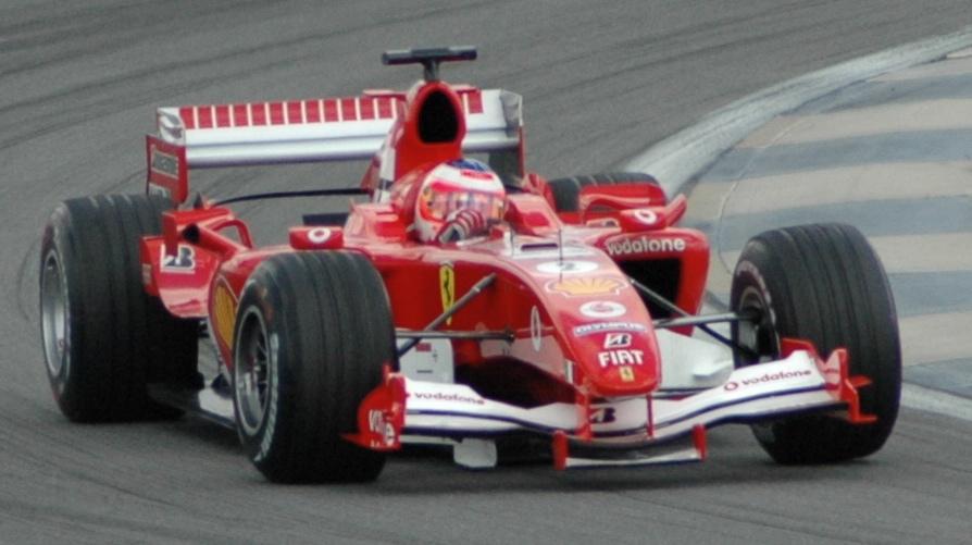 File Barrichello Ferrari Qualifying At Usgp 2005 Jpg Wikimedia Commons