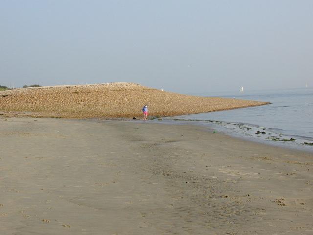 Beach at Sinah - geograph.org.uk - 431975