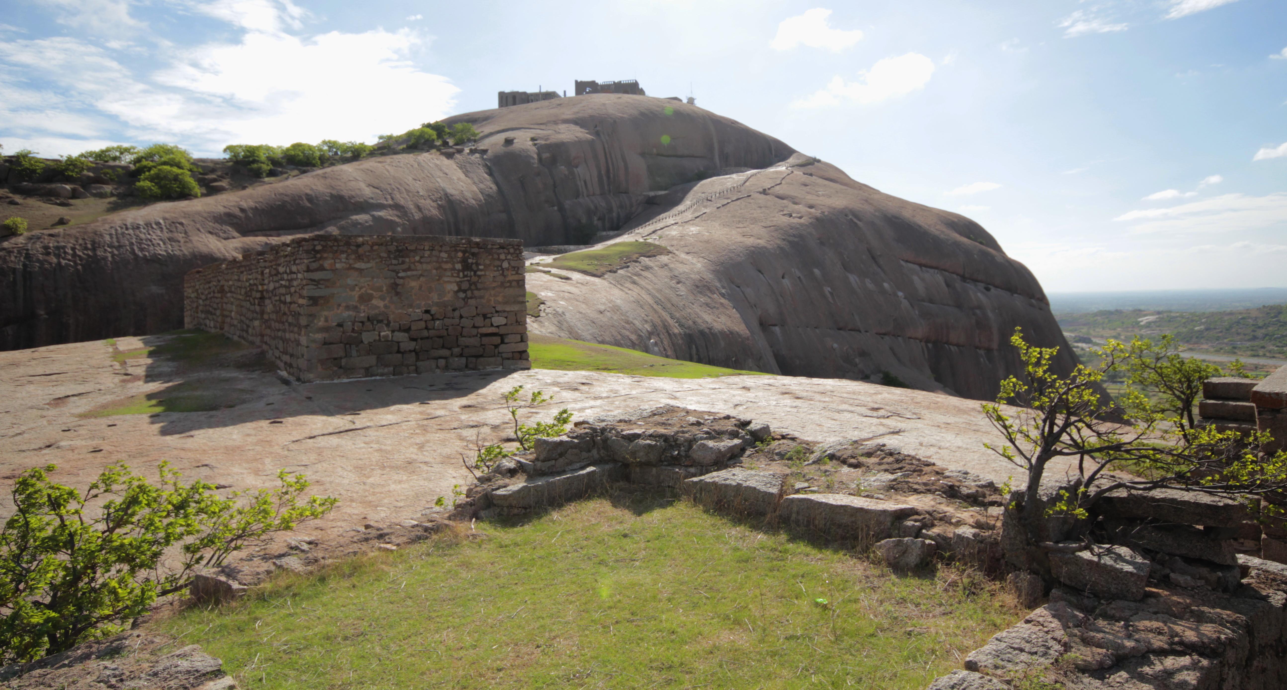 Bhuvanagiri Fort, Bhongir.JPG