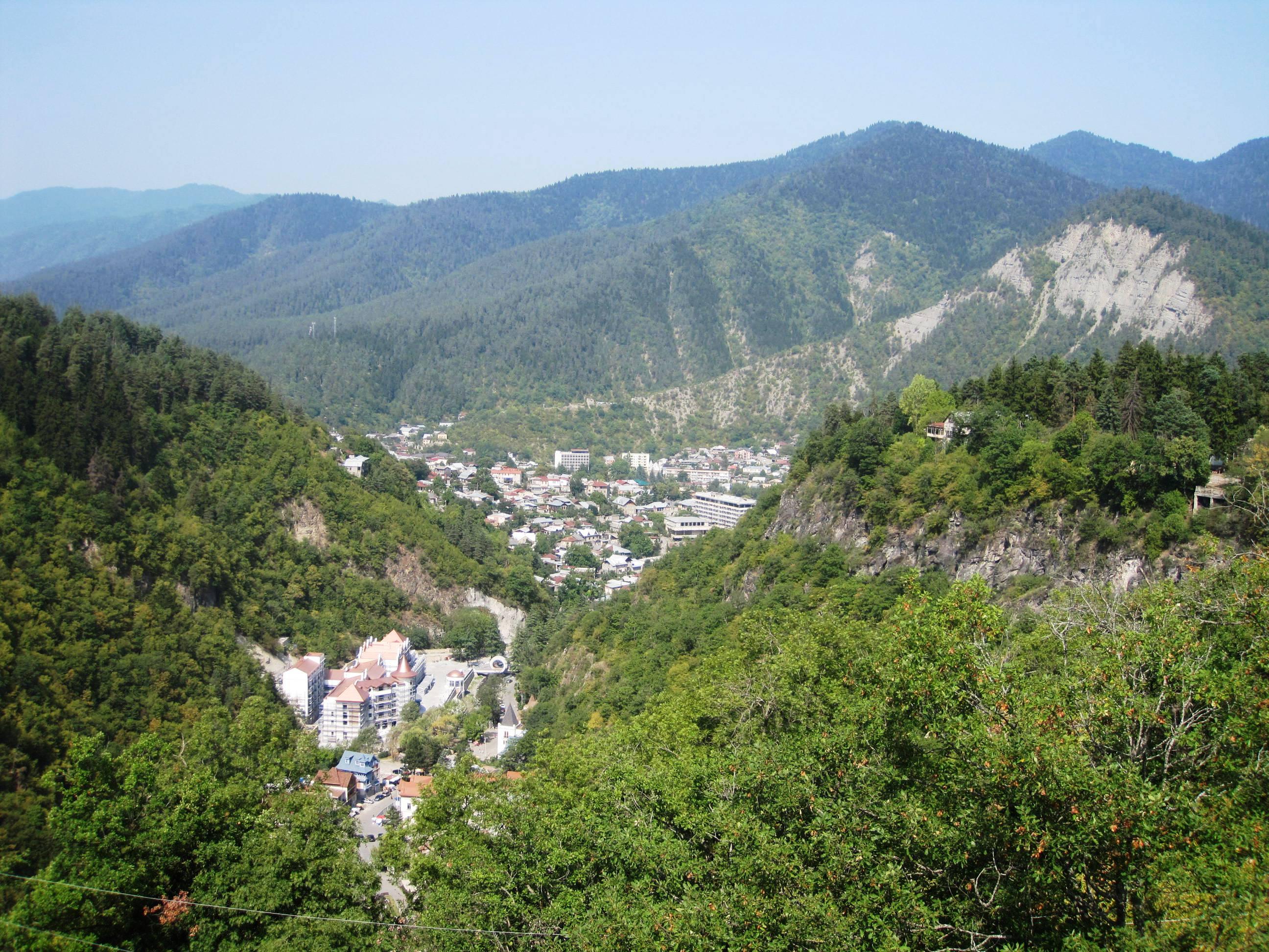 картинка фотография курорта Боржоми в Грузии