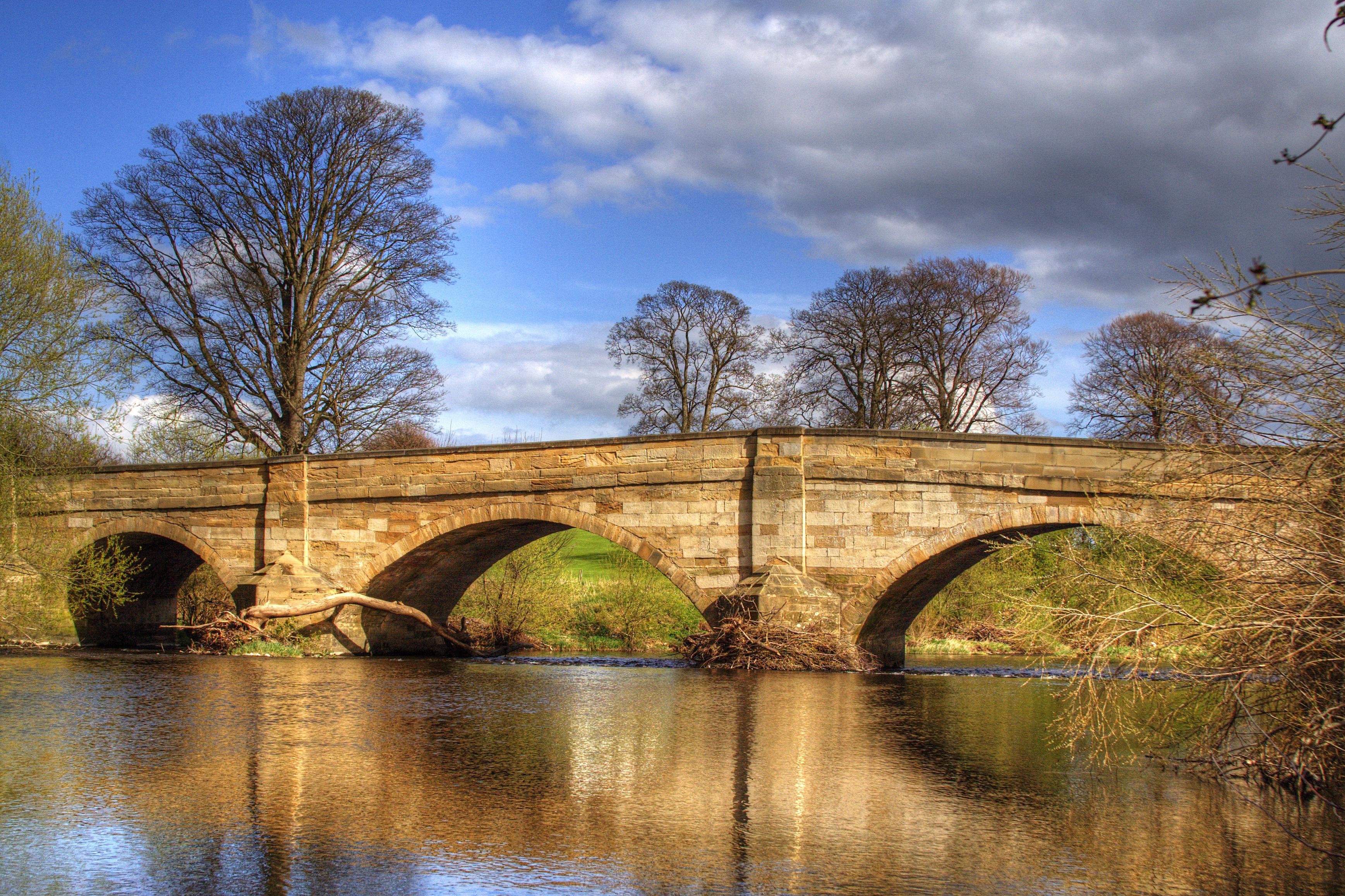 bridge on the river - photo #34