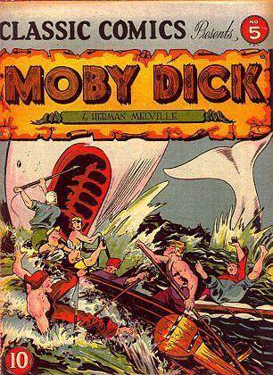 moby dick roman