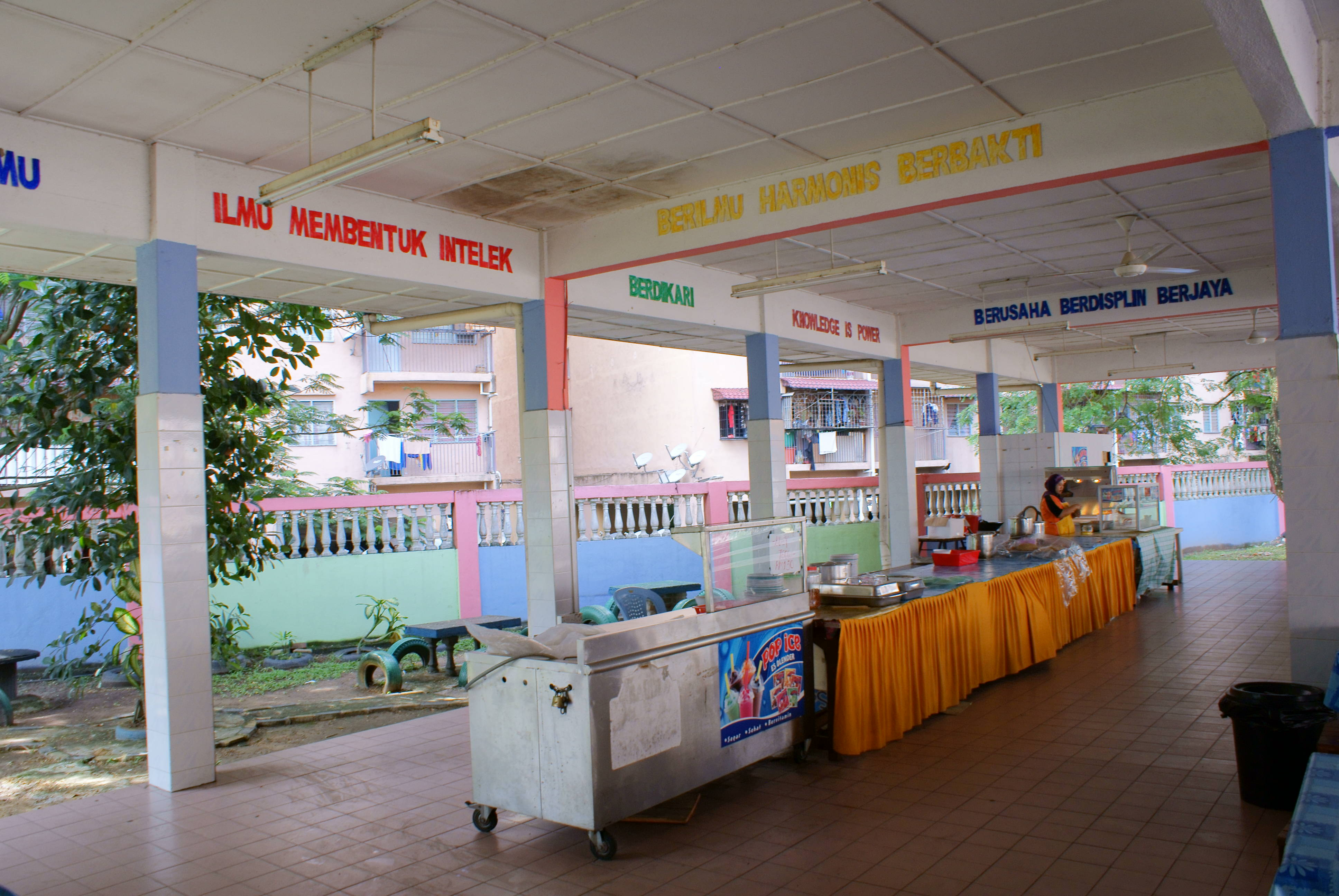 canteen cleanliness