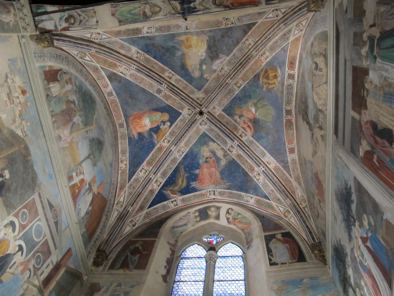 Bicci di Lorenzo, Volta della Cappella Bacci, Basilica di San Francesco, Arezzo
