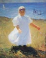 Child in sunlight 1901 Frank Weston Benson.jpg