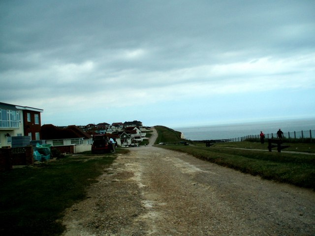 Cliff Path Peacehaven - geograph.org.uk - 1366009