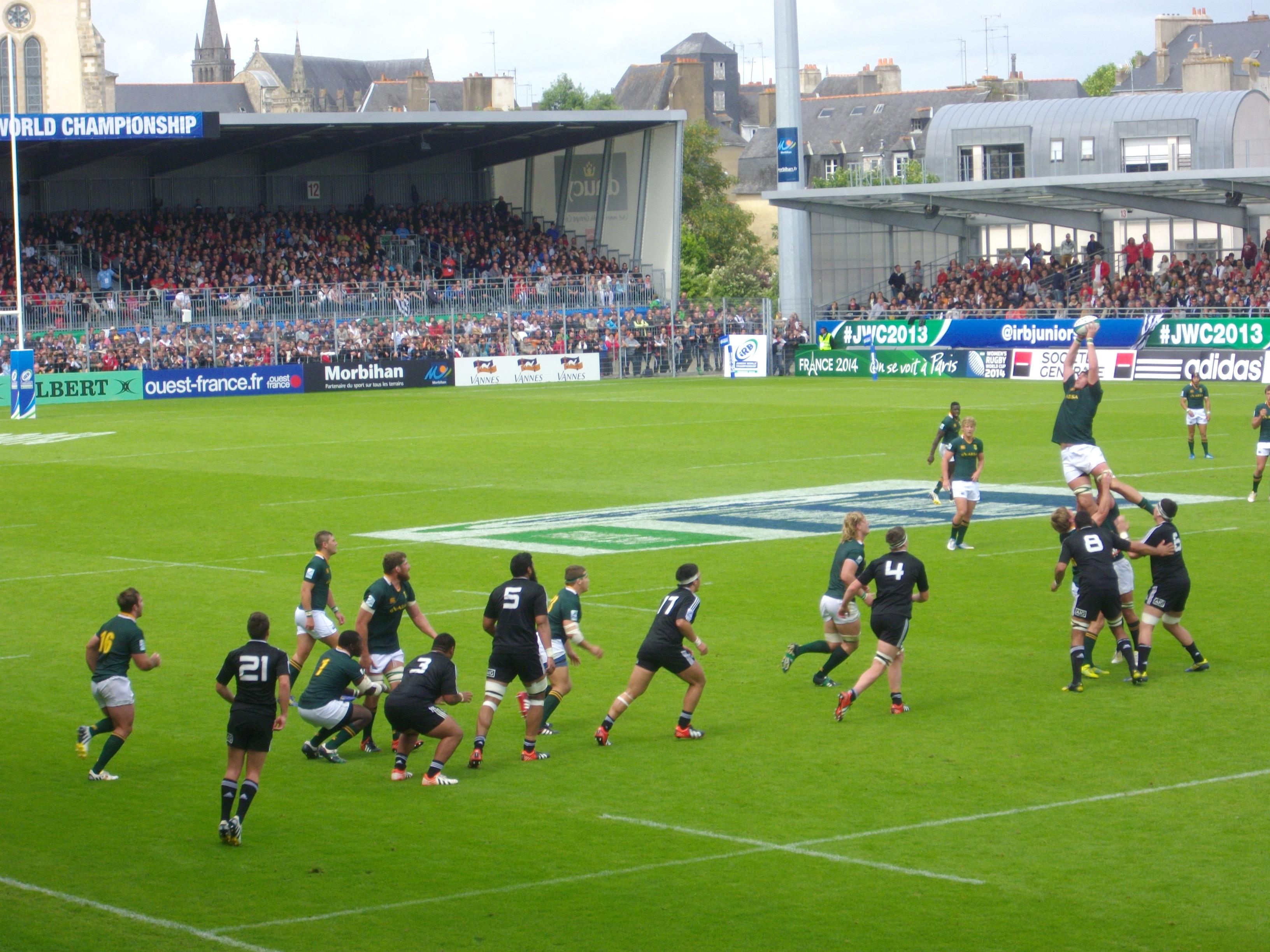 File coupe du monde junior de rugby xv 2013 3e place 10 jpg wikimedia commons - Place de rugby coupe du monde ...