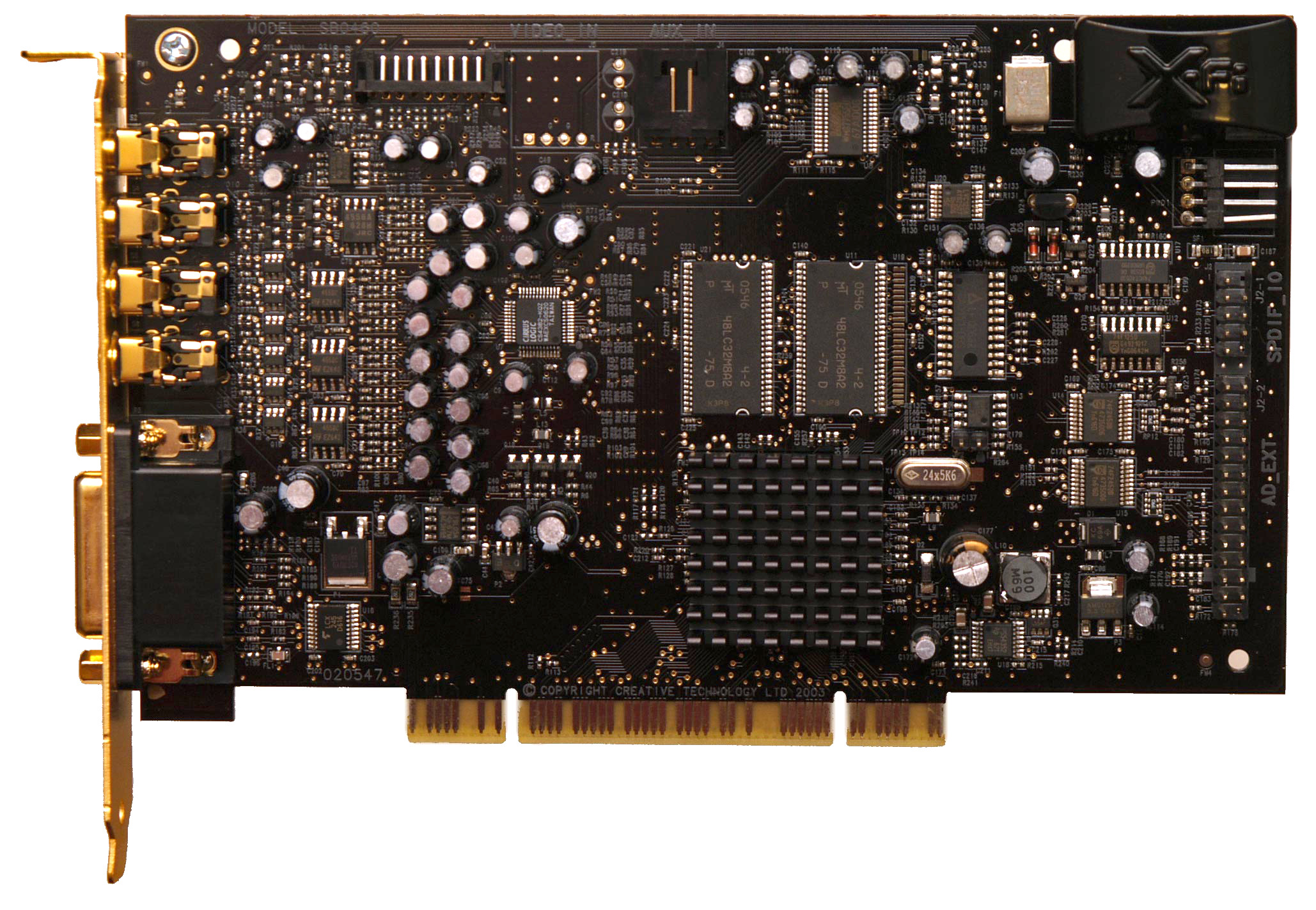 CREATIVE SOUND BLASTER CA0106-DAT DRIVERS DOWNLOAD