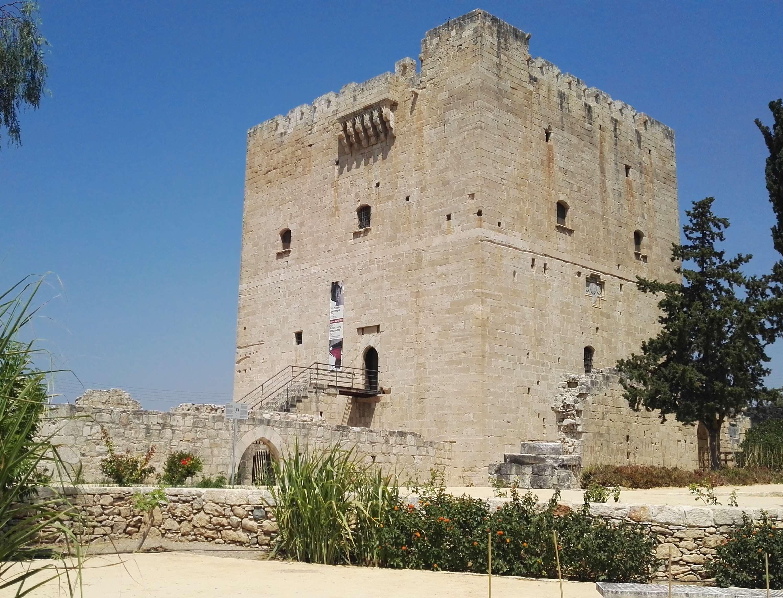 Замок Колосси на Кипре