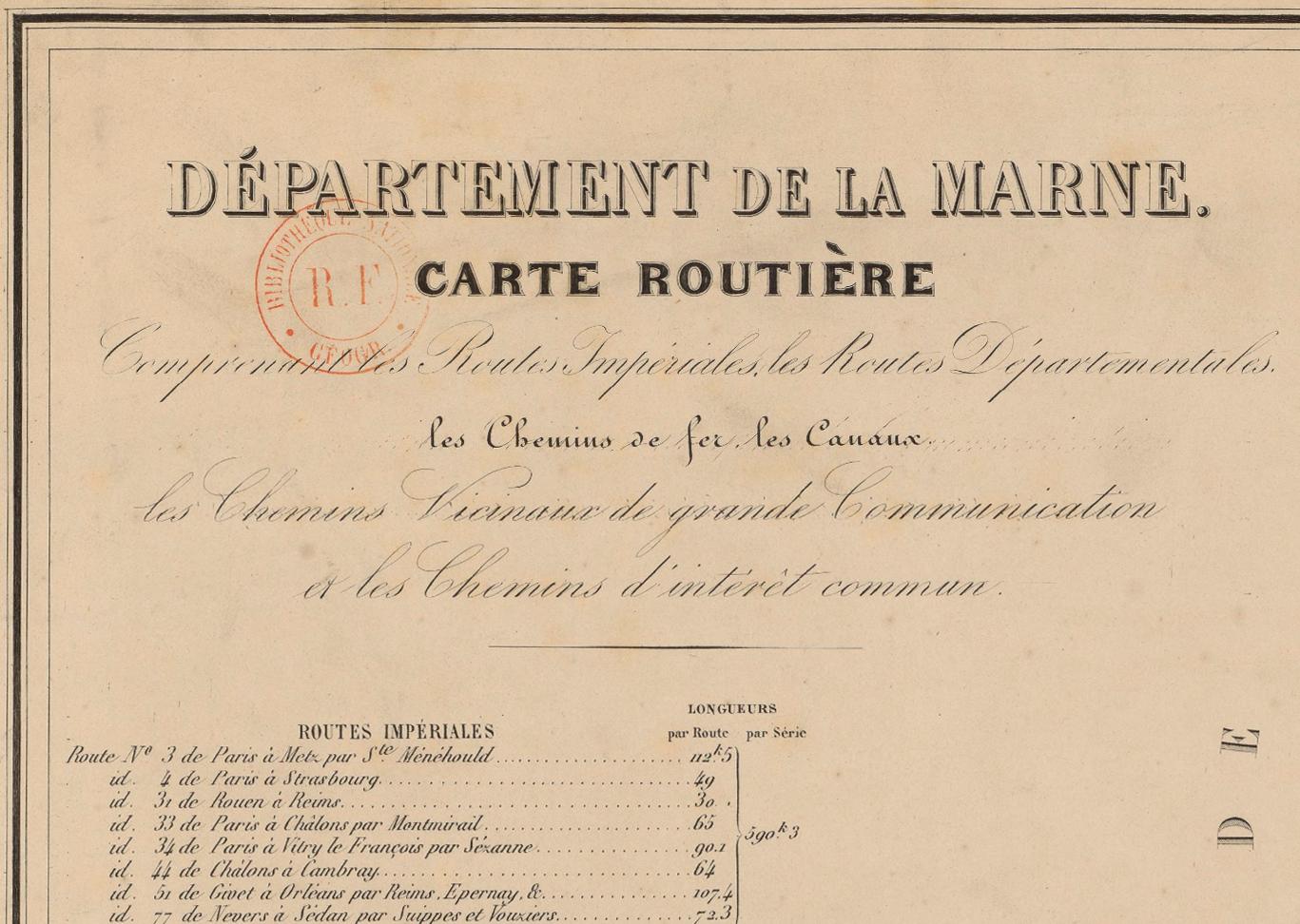 Liste Des Routes Imperiales Francaises De 1811 Wikipedia