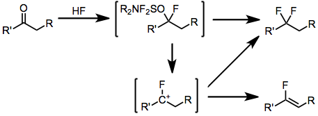 Fluorination With Aminosulfuranes Wikipedia