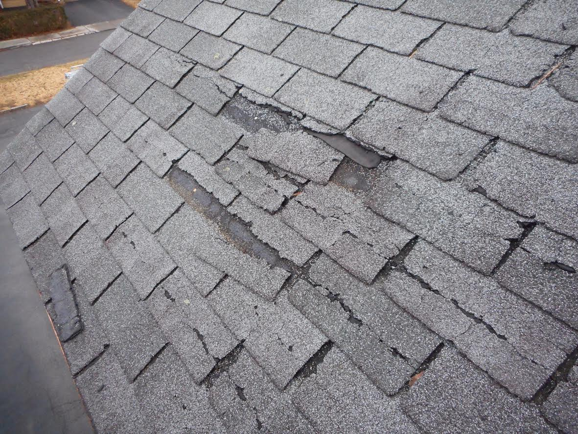 Image result for damaged shingles