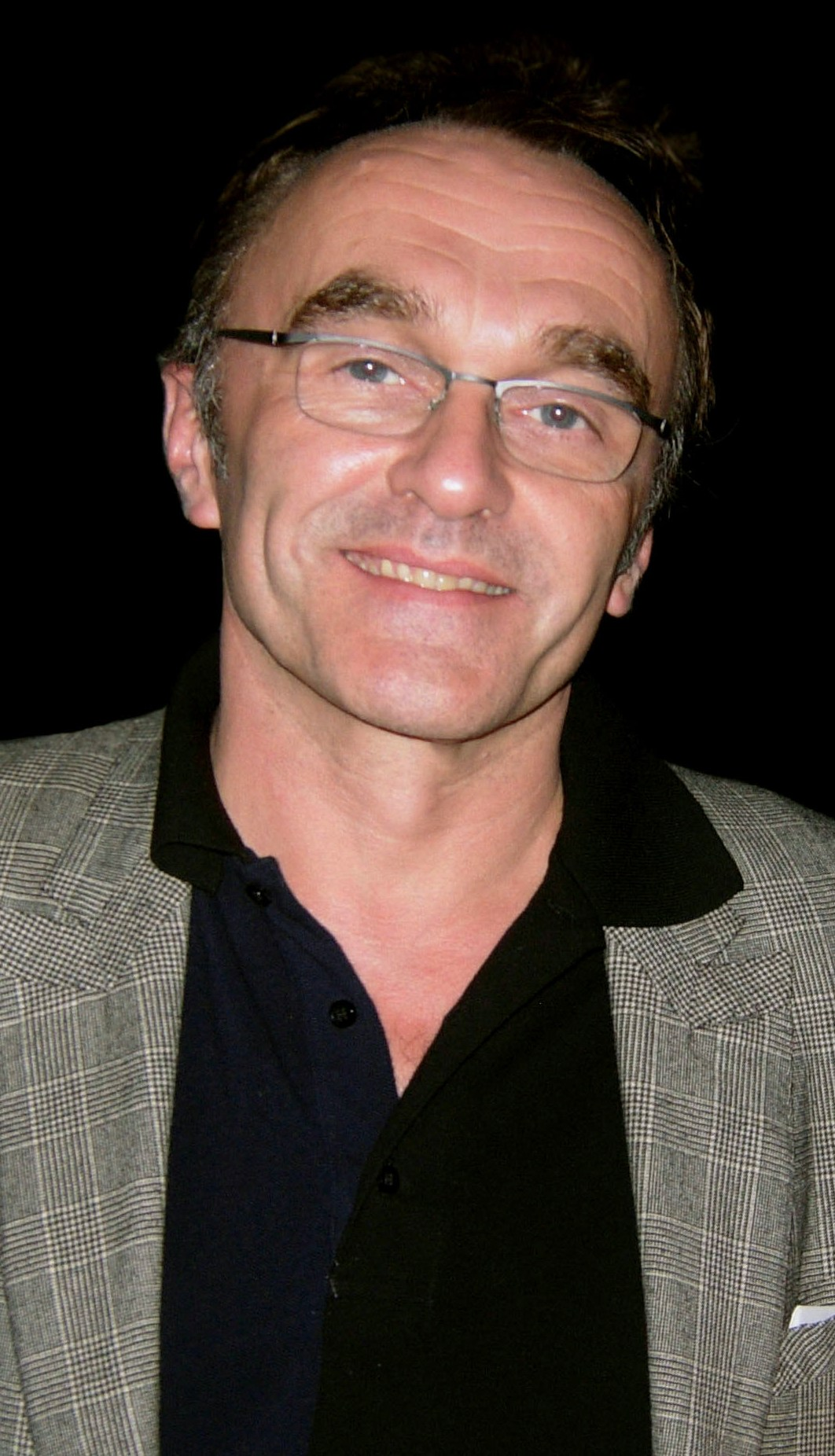 The 60-year old son of father (?) and mother(?), 190 cm tall Danny Boyle in 2017 photo