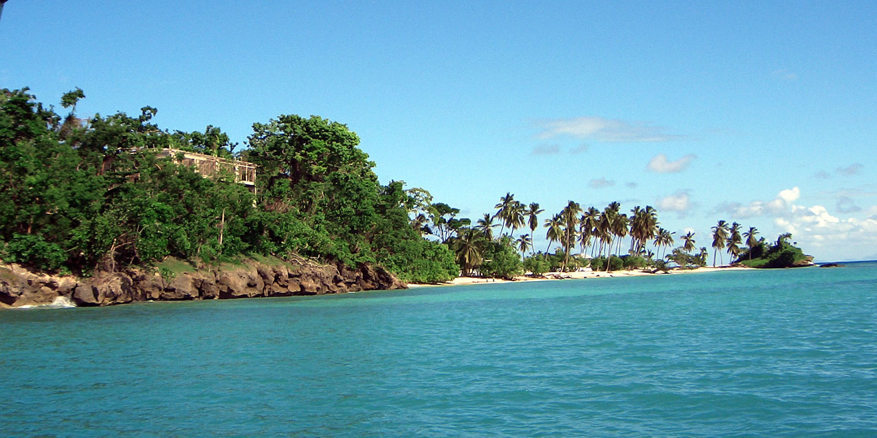 Bacardi Insel Dom Rep Karte.Bucht Von Samaná Wikipedia