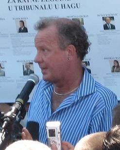 Ed Vulliamy British journalist