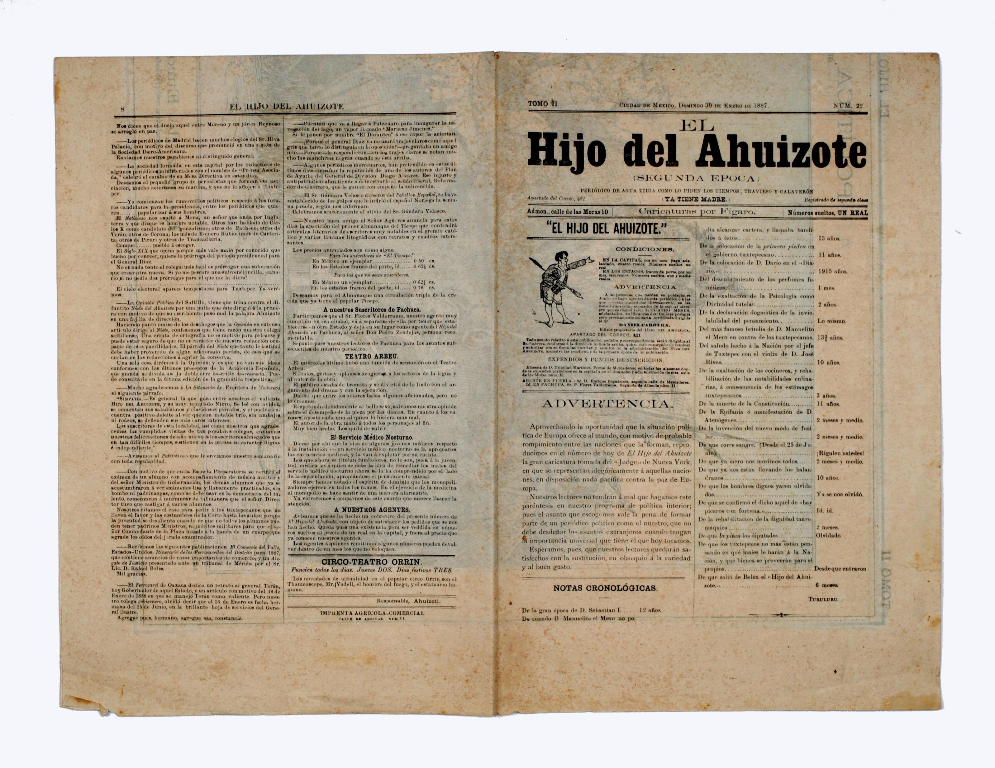 El Hijo Del Ahuizote Wikipedia La Enciclopedia Libre