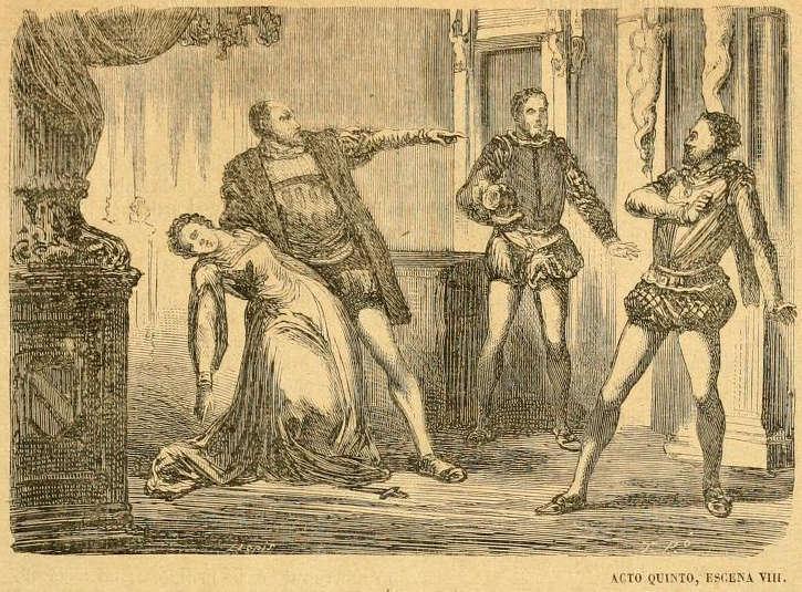 Emilia Galotti (acto quinto, escena VIII)