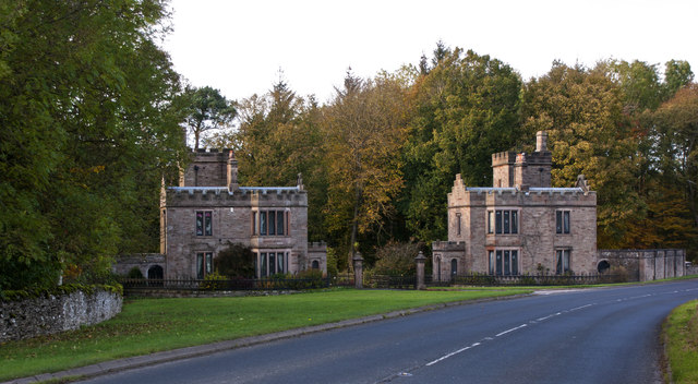 Emperor's Lodges, Lowther Castle