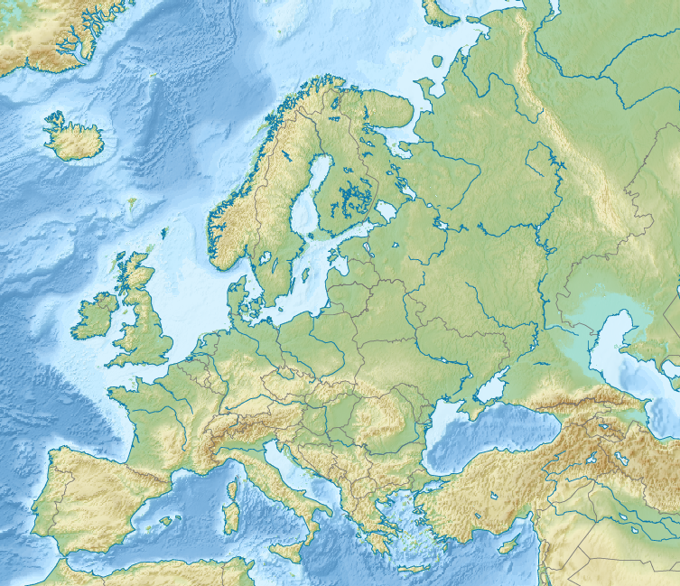 Fileeurope Relief Map 4 Wikimedia Mons: Europe Relief Map At Slyspyder.com