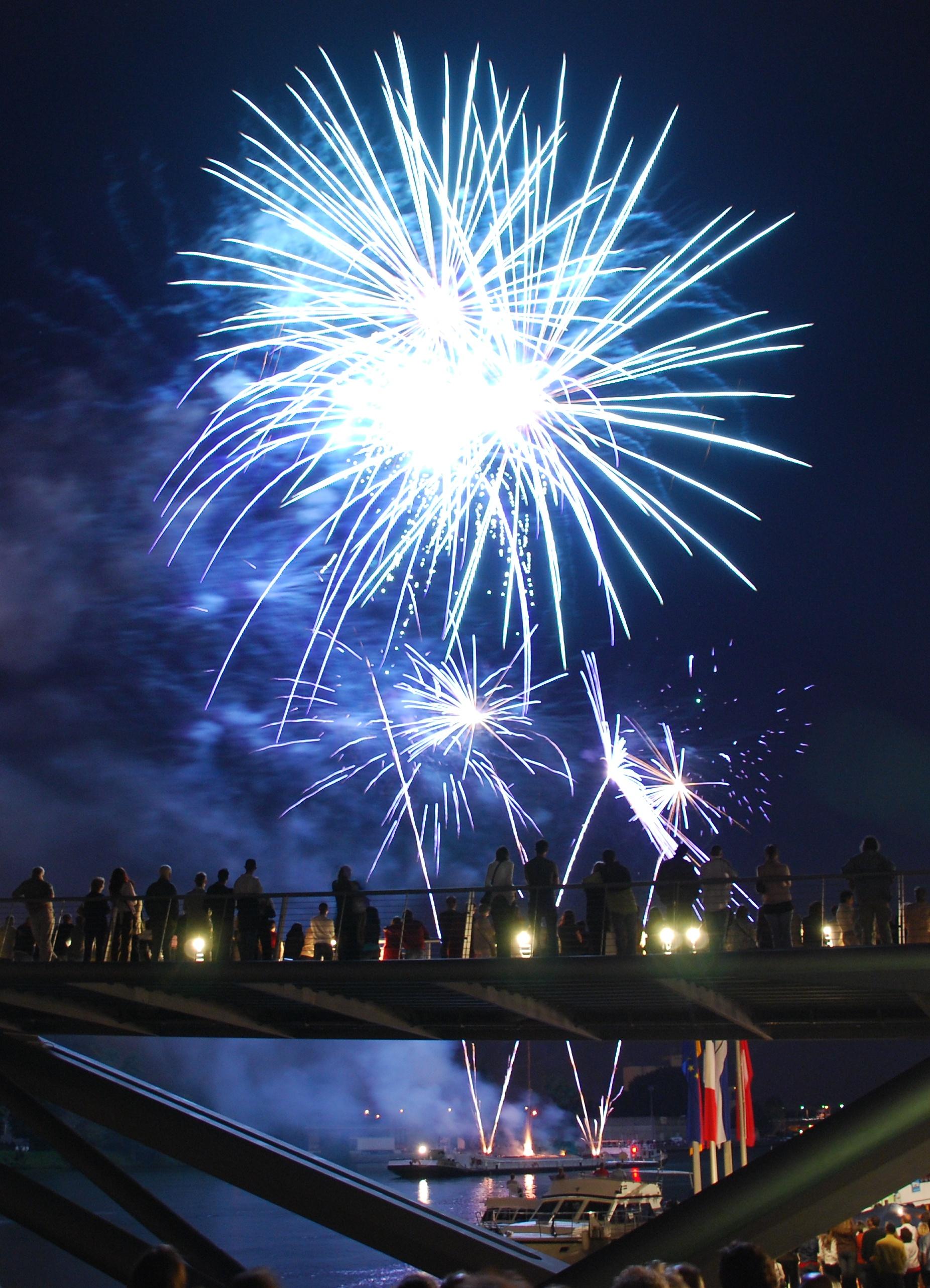 Feuerwerk - Quelle WikiCommons
