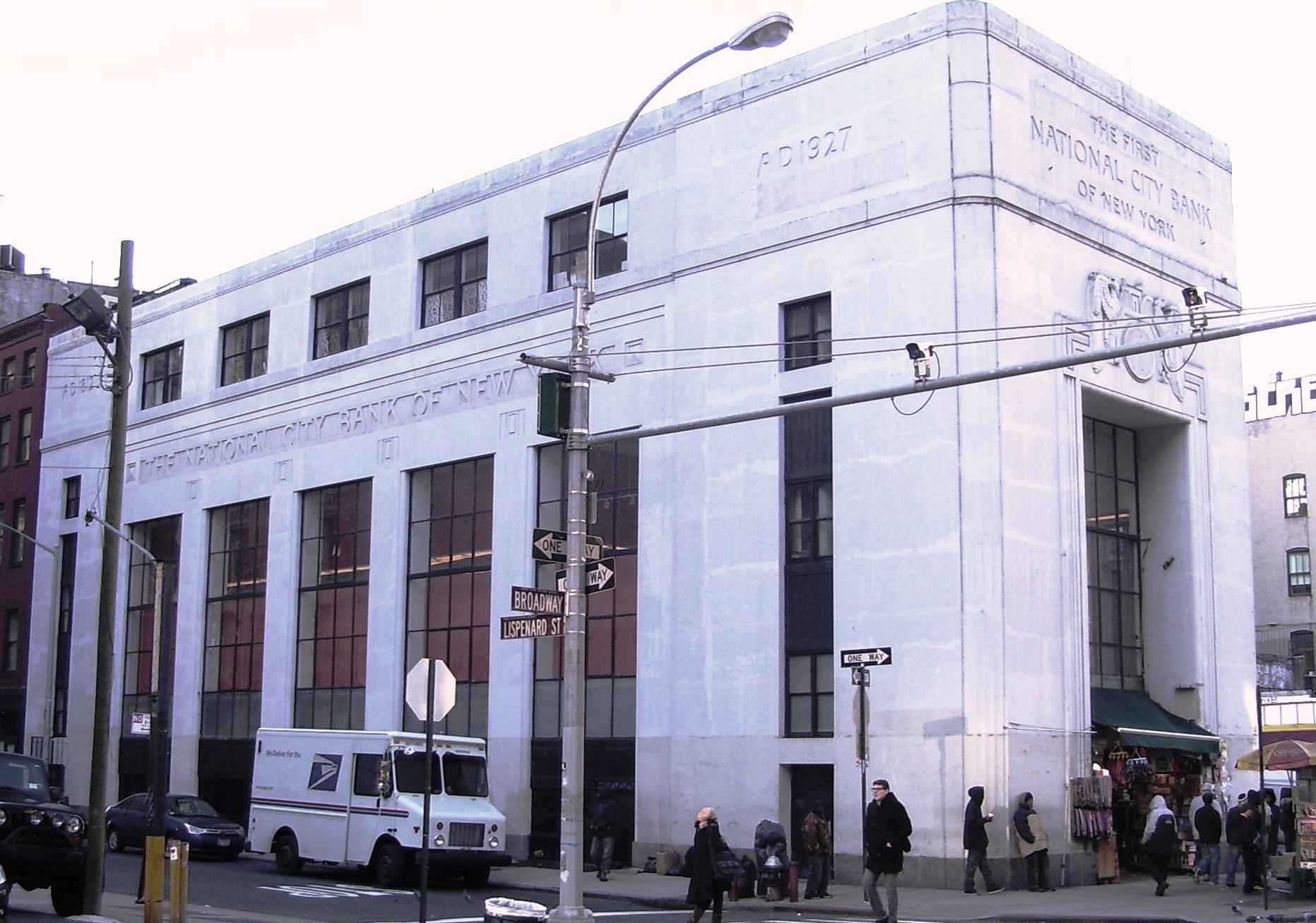National City Bank Building New York